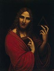 Christ with the Symbol of the Trinity