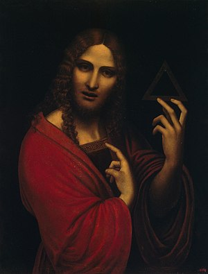 Giampietrino - Christ with the Symbol of the Trinity