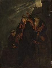 Ksiądz Marek ułatwia ucieczkę Łokietkow