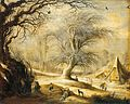 Gijsbrecht Leytens - Winter Landscape with Woodcutters.jpg