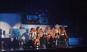 Girls Aloud - Girls Aloud performing in Glasgow during the Tangled Up Tour (2008)
