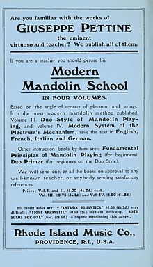 Giuseppe Pettine Modern Mandolin School advertisement.JPG