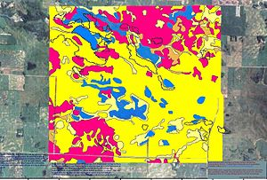 Pope County, Minnesota - Soils of Glacial Lakes State Park area