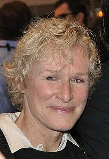 L'actriz estatounitense Glenn Close, en una imachen de 2009.