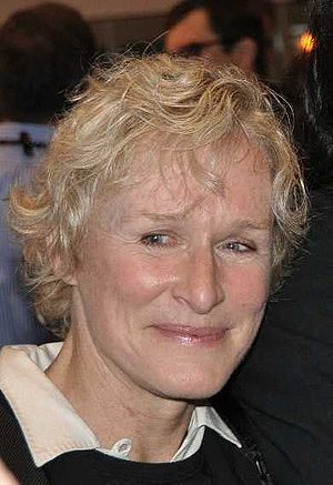 English: American actress Glenn Close