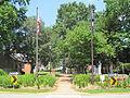 Gloucester, VA Historic Courthouse Circle Entrance - By Chuck Thompson of TTC Media.JPG