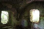 Gościszów Ruiny zamku ksiazecego pomieszczenia w przyziemiu 03.JPG