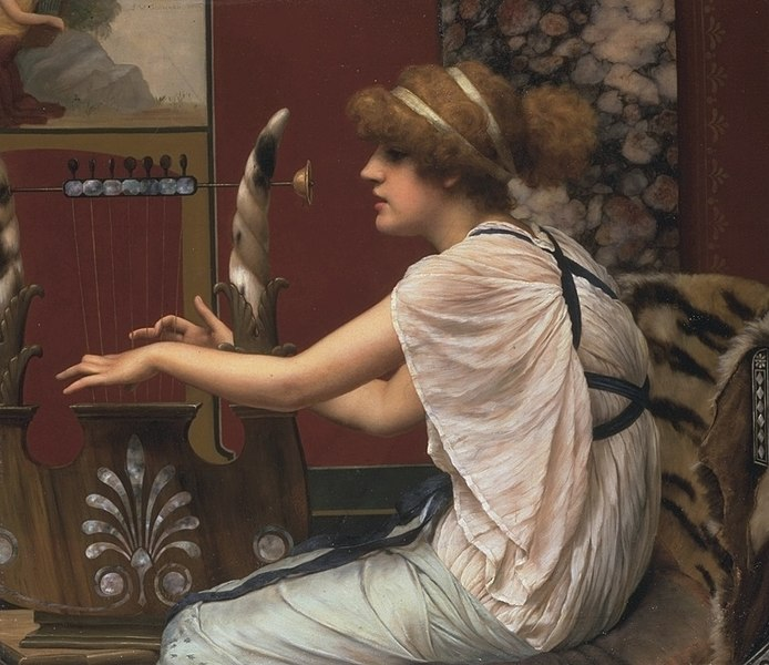 File:Godward-Erato at Her Lyre.jpg