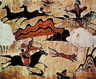 History of Korea - An example of a Goguryeo tomb mural