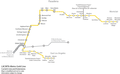 Gold Line Map (Future) of the Los Angeles County Metro System.png