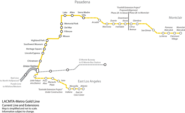 File Gold Line Map Future Of The Los Angeles County Metro System