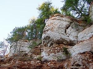 Pinezhsky District - A karst cave in Pinezhsky Nature Reserve in Pinezhsky District