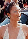 Photo of Gong Li at Cannes Film Festival in 2007.