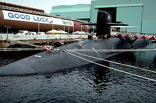 <i>Ohio</i>-class submarine Class of US nuclear ballistic missile submarines