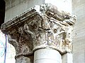 Gournay-en-Bray (76), collégiale St-Hildevert, nef, chapiteaux à la fin des grandes arcades du nord.jpg