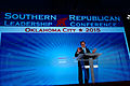 Governor of Texas Rick Perry at Southern Republican Leadership Conference, Oklahoma City, OK May 2015 by Michael Vadon 05.jpg