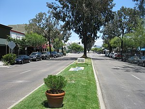 Escondido, California - Central Grand Avenue