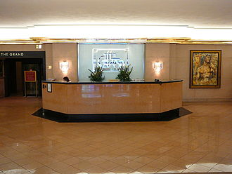 The Grand Doubletree - Image: Grand Doubletree concierge