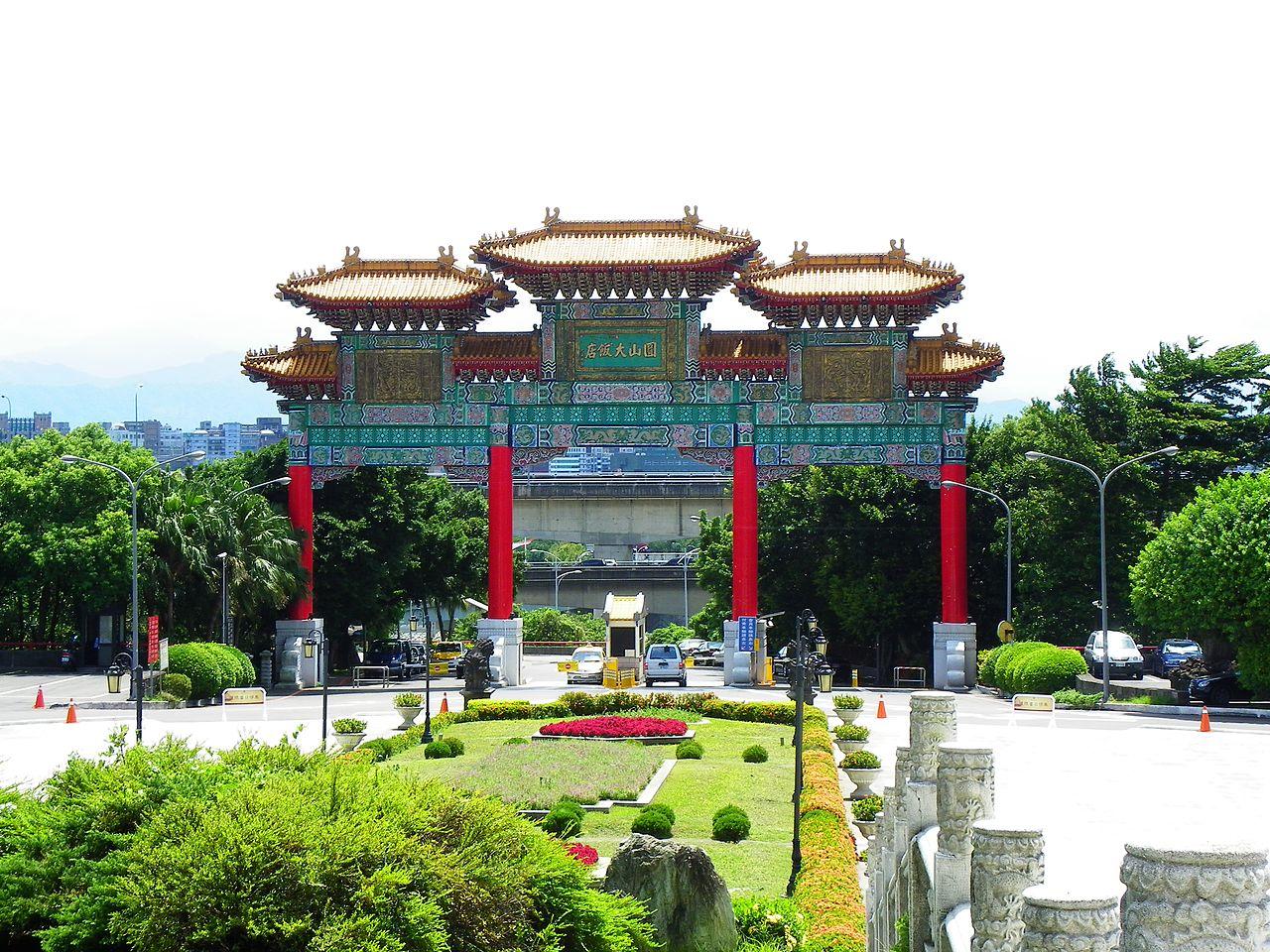 Grand Hotel Taipei History