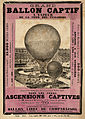 Grand ballon captif a vapeur de la cour des Tuileries, broadsheet, Paris, 1878.jpg