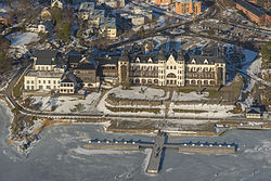 Aerial view of Grand Hotel Saltsjöbaden