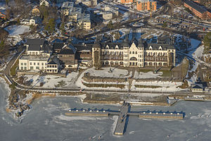 Wallenberg family - Grand Hotel Saltsjöbaden; built in 1890s by the Wallenberg family