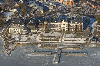 Saltsjöbaden - Aerial view of Grand Hotel Saltsjöbaden