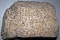 Granite (Silver Plume Granite, Mesoproterozoic, 1.42 Ga; Larimer County, Colorado, USA) 3 (31567126092).jpg
