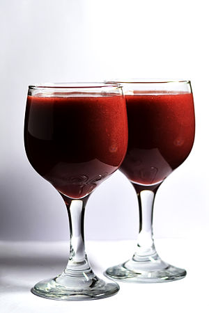 מיץ ענבים, קידוש.