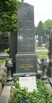 Grabstätte von Ignaz Mosel (Quelle: Wikimedia)