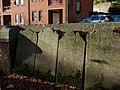 Gravestones beside Exe Street (2) - geograph.org.uk - 1059206.jpg