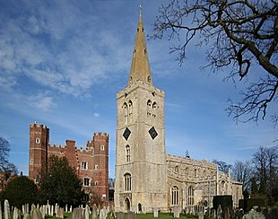 Great Tower and St.Mary's church