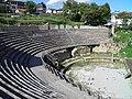 Greek Theatre built in 200 BC, Lychnidos, Ohrid, Republic of Macedonia FYROM (8397089179).jpg