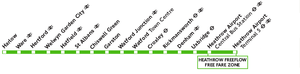 Green Line bus route 724 - Image: Green Line 724 route diagram