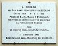 Greve, lapide abate don luigi razzolini 1996.JPG