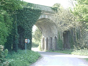Grimstone Viaduct - From the East