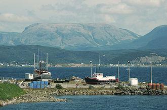 Gros Morne, Newfoundland - Image: Gros Morne Mountain