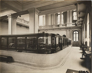 First National Bank (Philadelphia) - Original interior of First National Bank, ca. 1911, by William H. Rau