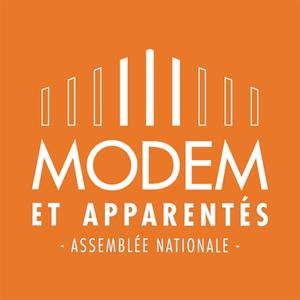 Democratic Movement and affiliated group - Image: Groupe du Mouvement démocrate et apparentés