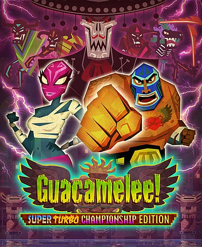 Picture of a game: Guacamelee!