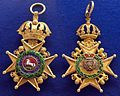 Guelphic Order badge obverse-reverse (Hannover) - Tallinn Museum of Orders.jpg