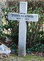 GuentherZ 2013-01-12 0409 Wien11 Zentralfriedhof Gruppe88 Soldatenfriedhof polnisch WK2 Grabkreuz Stefan Polkowski.JPG