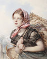 Guido Bach Portrait of young peasant girl.jpg