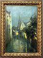 Guillaume vogels, canali a bruges, la sera, s.d. (1870-60 ca.).jpg