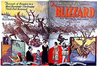 <i>The Blizzard</i> (1923 film) 1923 film by Mauritz Stiller