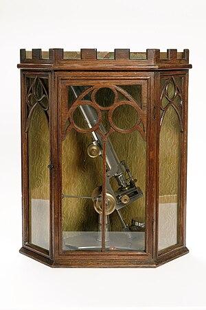 Joseph Gutteridge - Image: Gutteridge Microscope Case HAGAM