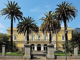 Palais Lantivy former palace, now a government building, in Ajaccio, Corsica, built 1826–1830 to the designs of Alphonse de Gisors
