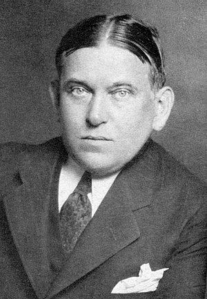 Scopes Trial - H. L. Mencken in 1928
