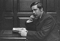 H. G. Wells, vers 1890.