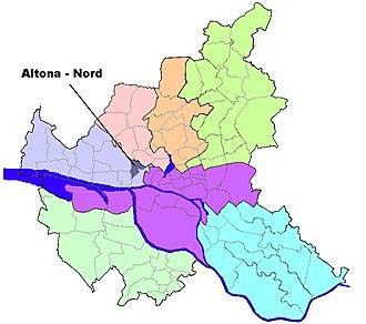 Altona-Nord - Image: HH Altona Nord quarter